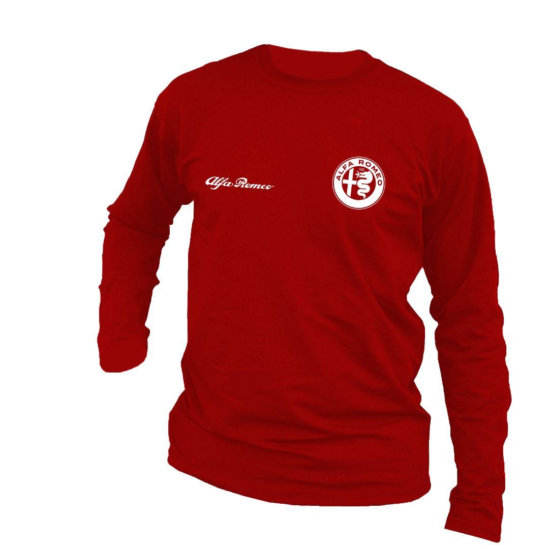 Pamuni Duks Alfa Romeo Crveni Duksevi Pontis Motori Kraljevo Sweater
