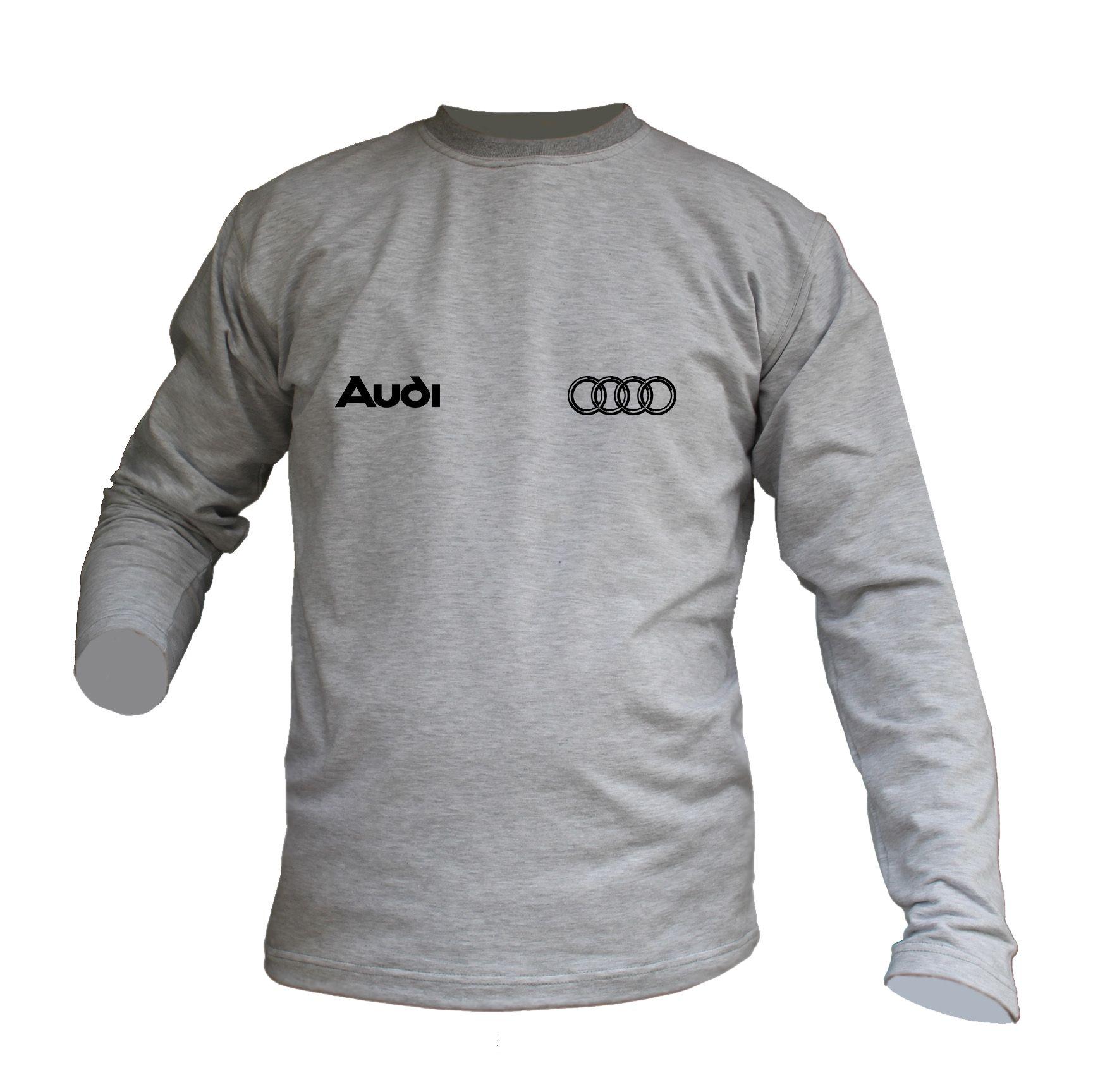 velika prodaja kupovina novih američka jeftina prodaja Pamučni duks AUDI - sivi / Duksevi - Pontis Motori Kraljevo
